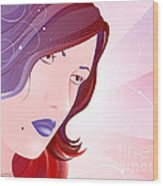 Bella Donna I Wood Print