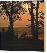 Bella Vista Sunset 2 Wood Print
