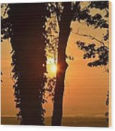 Bella Vista Sunset 3 Wood Print