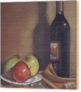 Bella Wine Tasting Wood Print