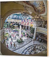 Bellagio Conservatory And Botanical Gardens Wood Print