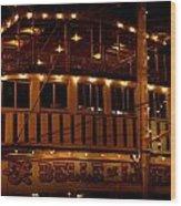 Belle Of Louisville Shine Wood Print