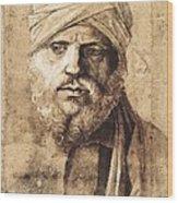 Bellini, Giovanni 1430-1516. Man Wood Print
