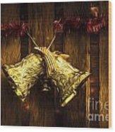 Bells Of Christmas Joy Wood Print