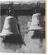 Bells Of San Juan Capistrano Wood Print