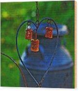 Bells Wood Print