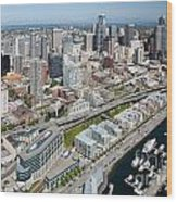 Belltown In Downtown Seattle Wood Print