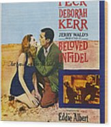 Beloved Infidel, Canadian Poster Wood Print