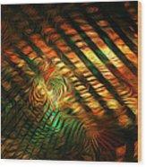 Below Abstract Wood Print