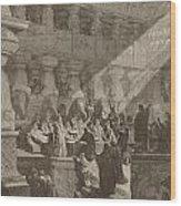 Belshazzar's Feast Wood Print