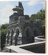 Belvedere Castle - Central Park Wood Print