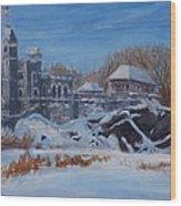 Belvedere Castle Central Park Nyc Wood Print