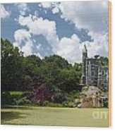Belvedere Castle Turtle Pond Central Park Wood Print