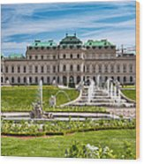 Belvedere Gardens Wood Print by Viacheslav Savitskiy