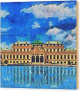 Belvedere Palace Wood Print