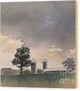 Bemis Road -1    Saline Michigan Wood Print