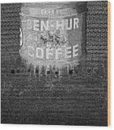 Ben Hur Coffee Wood Print