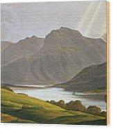 Ben Nevis Wood Print