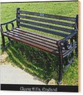 Bench #18 Wood Print