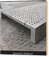 Bench #24 Wood Print