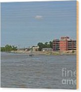 Bend Of The Mississippi River Wood Print