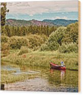 Bend/sunriver Thousand Trails Wood Print