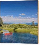 Bend Sunriver Thousand Trails Oregon Wood Print