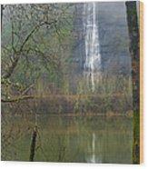 Beneath Crown Point 2  -  060114-004 Wood Print