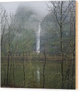 Beneath Crown Point 3  -  060114-005 Wood Print