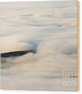 Beneath The Blanket Wood Print by Mike  Dawson
