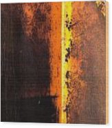 Beneath The Shield Wood Print