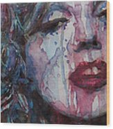 Beneath Your Beautiful Wood Print by Paul Lovering