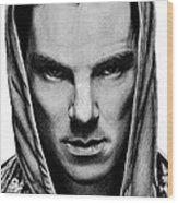 Benedict Cumberbatch Wood Print