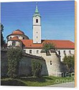 Benedictine Abbey Wood Print