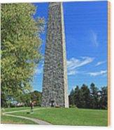 Bennington Monument Wood Print