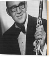 Benny Goodman (1909-1986) Wood Print