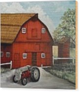 Bens Barn Wood Print