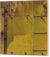 Bent Ladder Wood Print