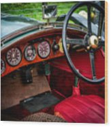 Bentley 3 Litre Wood Print