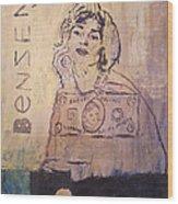 Benzene Wood Print