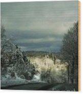 Berkshire Winter 2 Wood Print