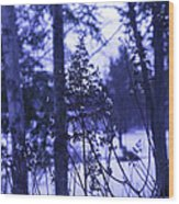 Berkshires Winter 8 - Massachusetts Wood Print