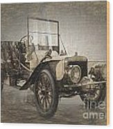 Berliet Double Phaeton Wood Print
