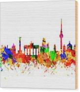Berlin Brandenburg Gate - 2 Wood Print