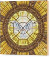 Berlin Cathedral Ceiling Wood Print