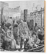 Berlin Fish Market, 1874 Wood Print