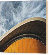 Berlin - Haus Der Kulturen Der Welt Wood Print