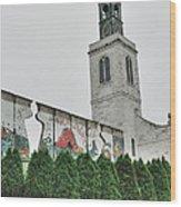Berlin Wall Segment Wood Print