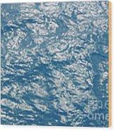 Bermuda Blues Wood Print
