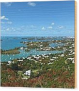 Bermuda From Gibbs Hill Lighthouse Wood Print